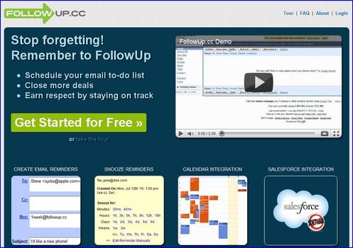 followup.cc to-do list
