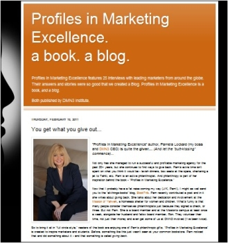 Profiles in Marketing Excellence Blog