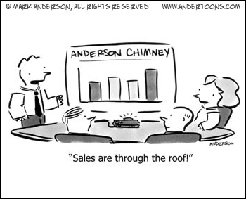 business cartoon