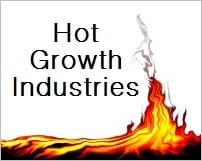 hot growth industries