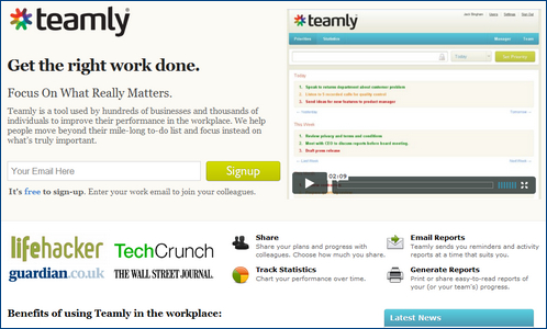 teamly for focusing on priority tasks