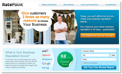 ratepoint local business reviews