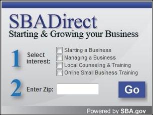 SBA Direct Widget