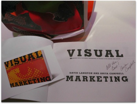 Visual Marketing book signing!