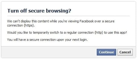 SSL Certificates for Facebook Pages