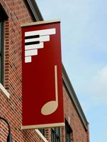 Quarternotes Loft sign