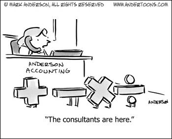 consulting cartoon