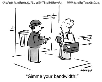 bandwith cartoon