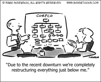 Restructuring Over the Downturn