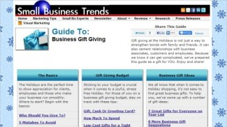 Business gift guide