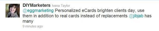diymarketers tweet
