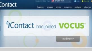 Vocus acquires iContact