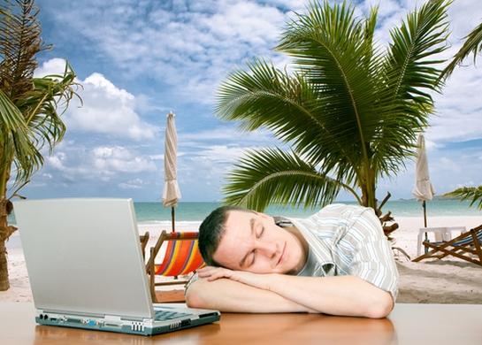 Entrepreneurs: Working Hard, or Hardly Working?