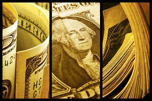 money collage