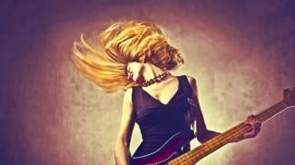 woman rocker