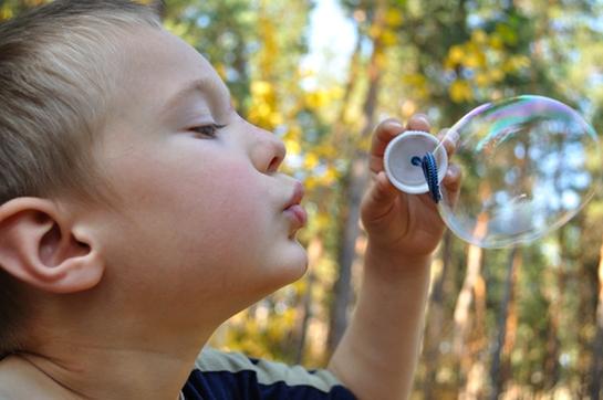 Bubbles Do Burst