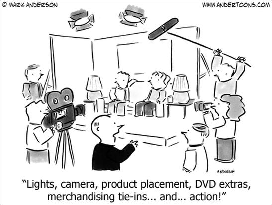 advertising cartoon