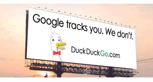 DuckDuckGo competing on privacy