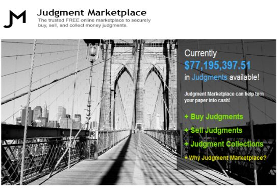 Judgment Marketplace
