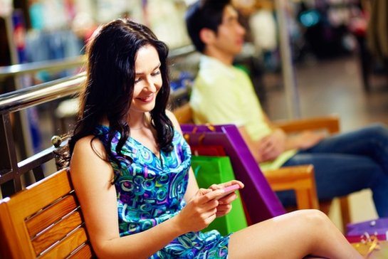 mobile device shopping