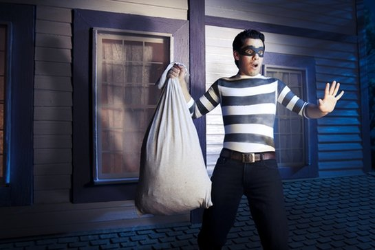 caught stealing