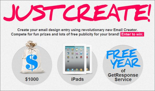 GetResponse Email Template Contest