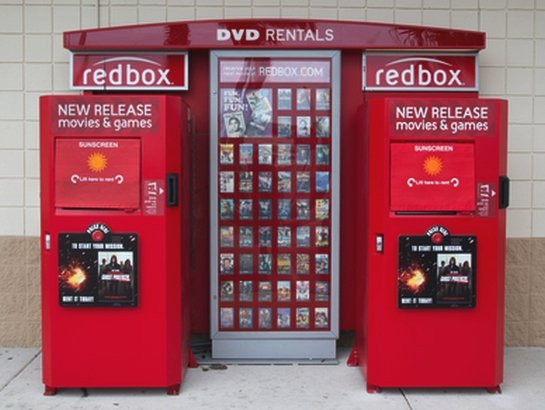 Red Box Movie Rental Kiosk