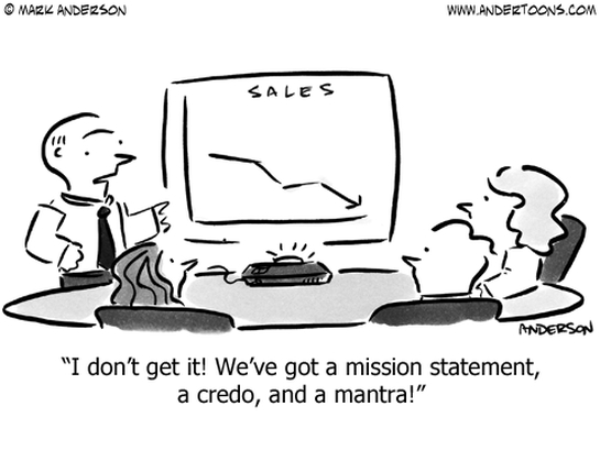sales business cartoon