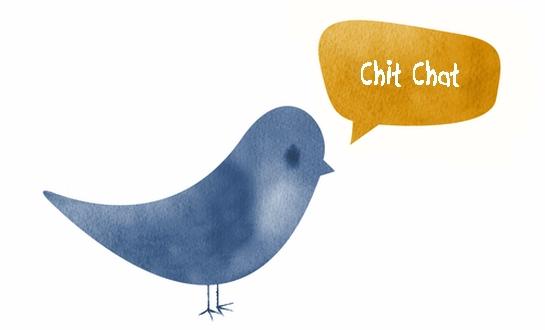 chit chat twitter bird