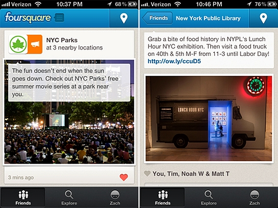 New Foursquare Feature Lets Businesses Target Nearby Loyal Customers