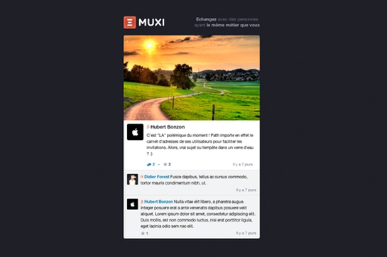 Introducing The First Professional Social Network: Muxi