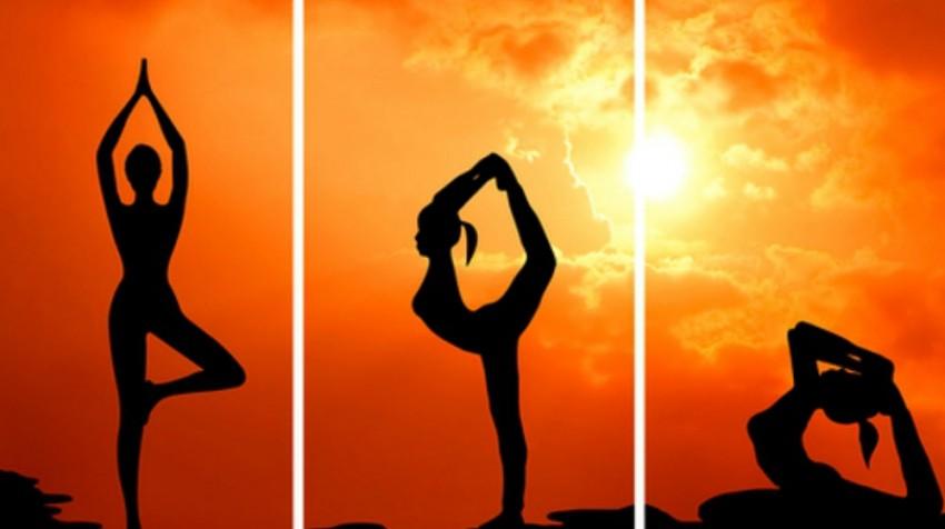 yoga triptych