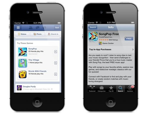 Facebook Testing Non Social Ad Units for Mobile Apps