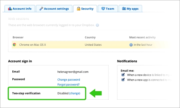 Dropbox Rolls Out Two-Factor Authentication Login Method to Increase Security