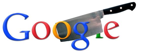 google cuts