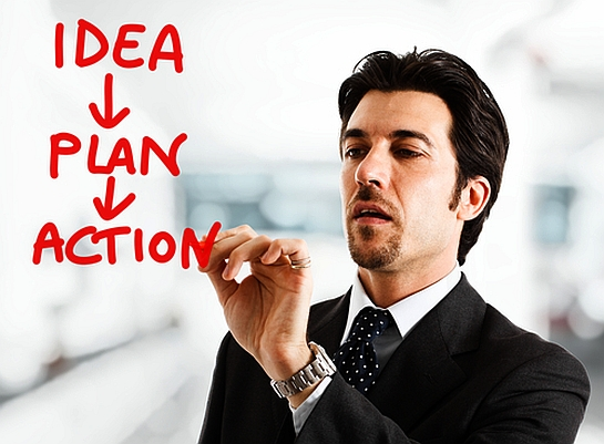 Ideas Carry Potential: Action Carries Outcome