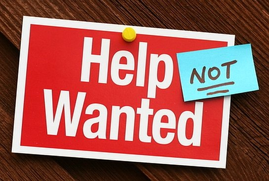 help wanted not