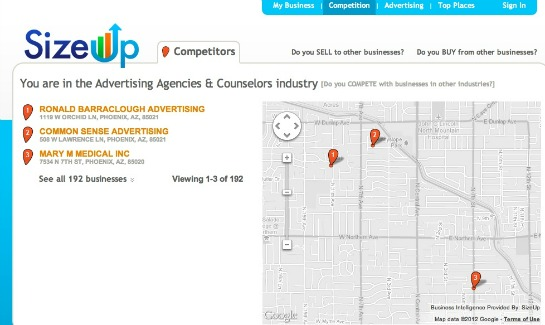 SizeUp Gives Small Businesses Free Intelligence Resources