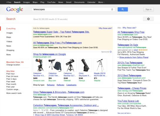Google Shopping Changes to Paid Listings