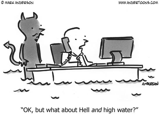 management business cartoon