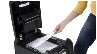 Swingline Document Shredder for Small Business