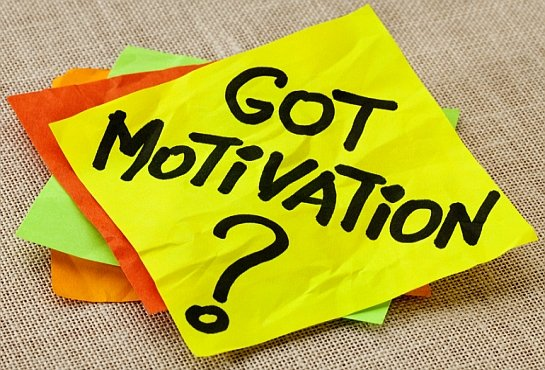 Work Is Easier When You're Motivated