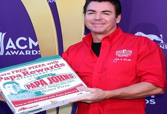 John Schnatter, CEO of the Papa John's pizza