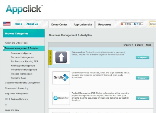 Find Apps For Business With Appclick America Marketplace