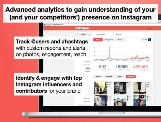 Nitrogram: Analytics for Instagram Marketing