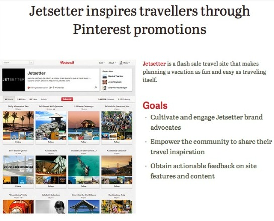 New! Pinterest Business User Accounts