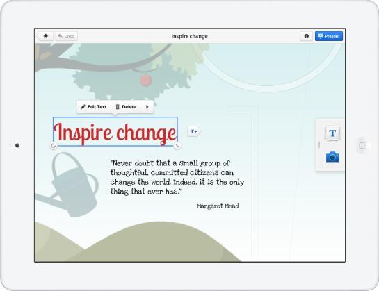 Create Prezi Presentations on iPad, View and Share on iPhone