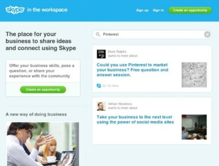 Skype in the Workspace Offers Communication Hub for Businesses