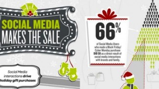 social media holiday graphic