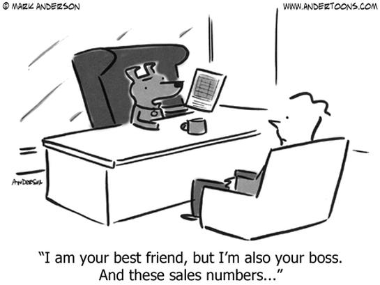 boss business cartoon